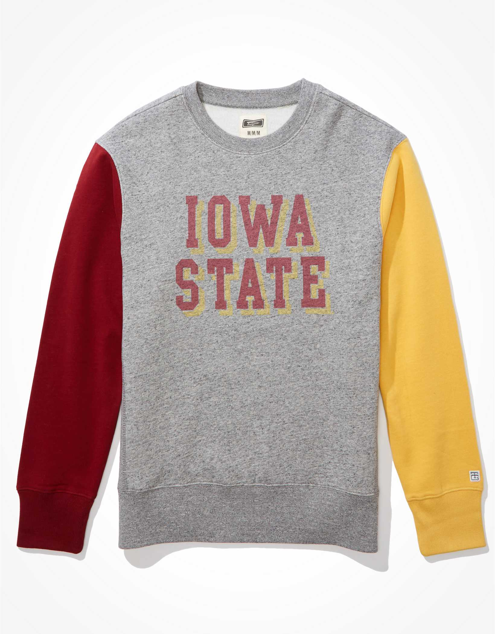 Tailgate Men's ISU Cyclones Colorblock Sweatshirt