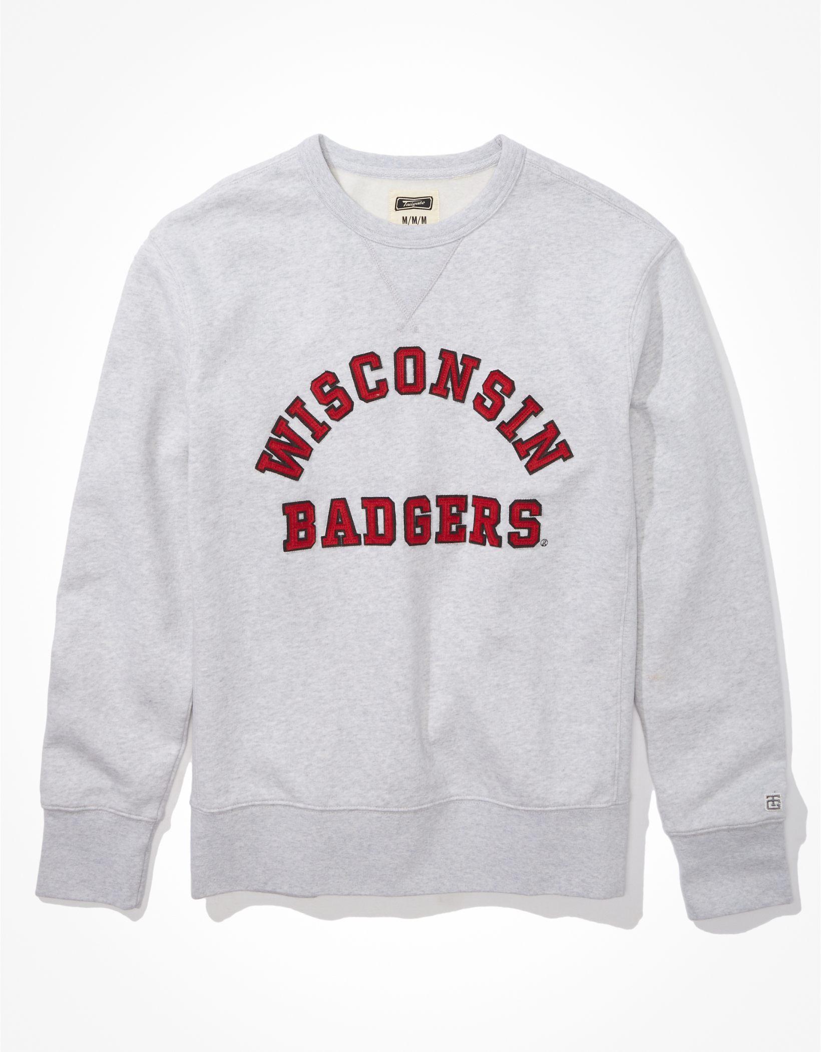 Tailgate Men's Wisconsin Badgers Fleece Sweatshirt