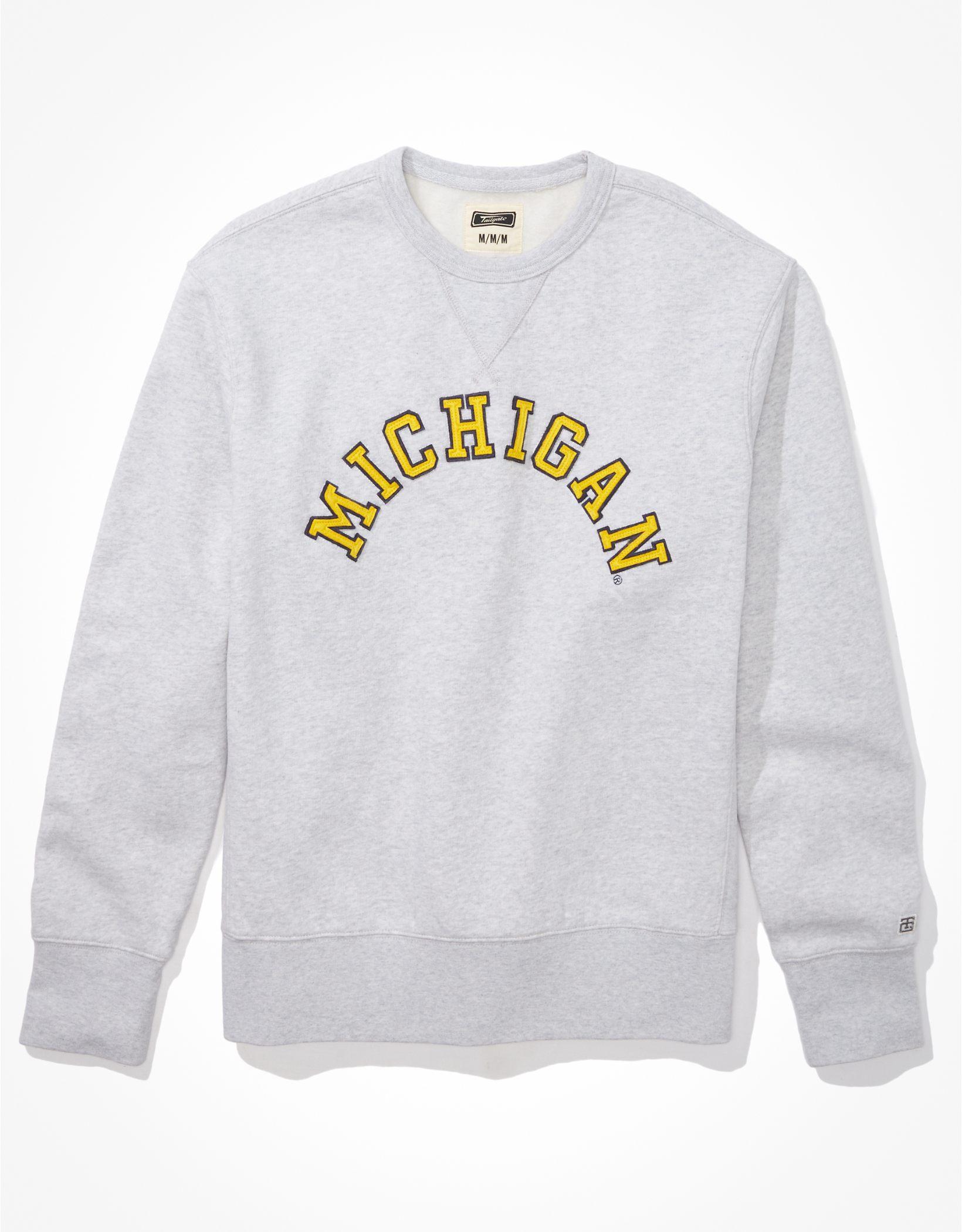 Tailgate Men's Michigan Wolverines Fleece Sweatshirt