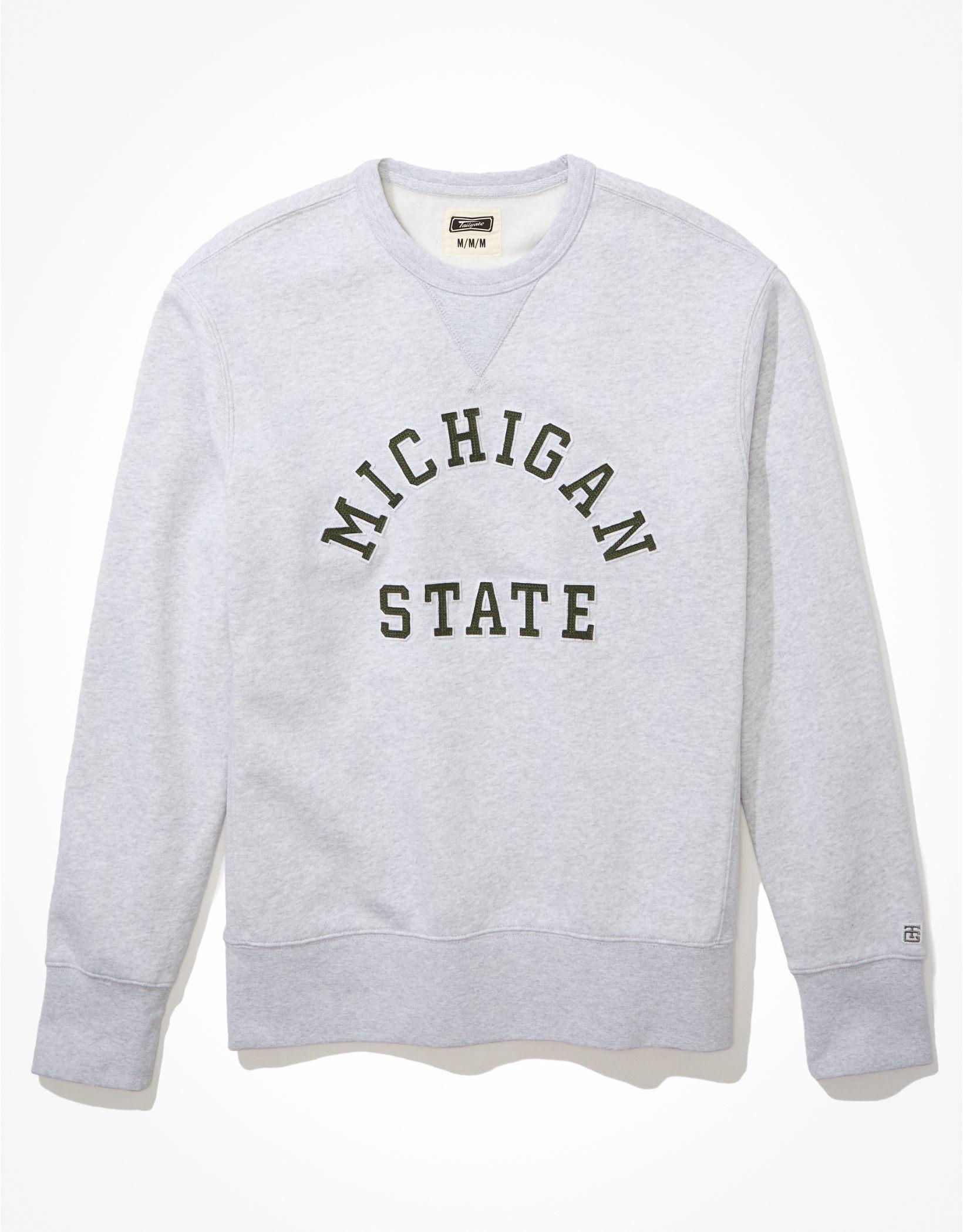 Tailgate Men's MSU Spartans Fleece Sweatshirt