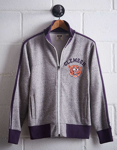 Tailgate Men's Clemson Track Jacket - Free Returns