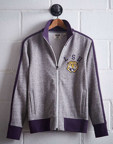 Tailgate Men's LSU Track Jacket - Free Returns