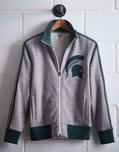 Tailgate Men's Michigan State Track Jacket - Free Returns