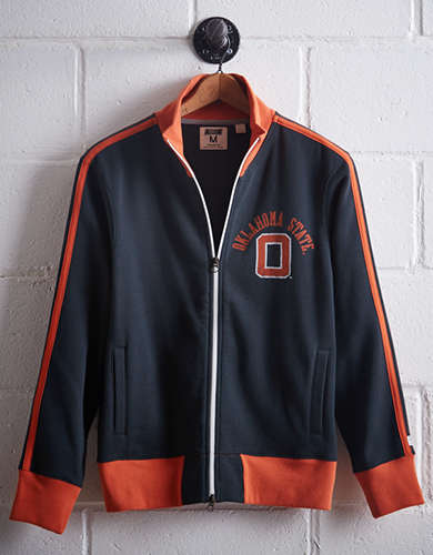 Tailgate Men's Oklahoma State Track Jacket - Free Returns
