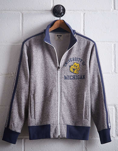 Tailgate Men's Michigan Track Jacket -
