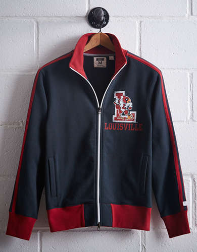 Tailgate Men's Louisville Track Jacket - Free Returns