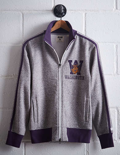 Tailgate Men's Washington Track Jacket - Free Returns
