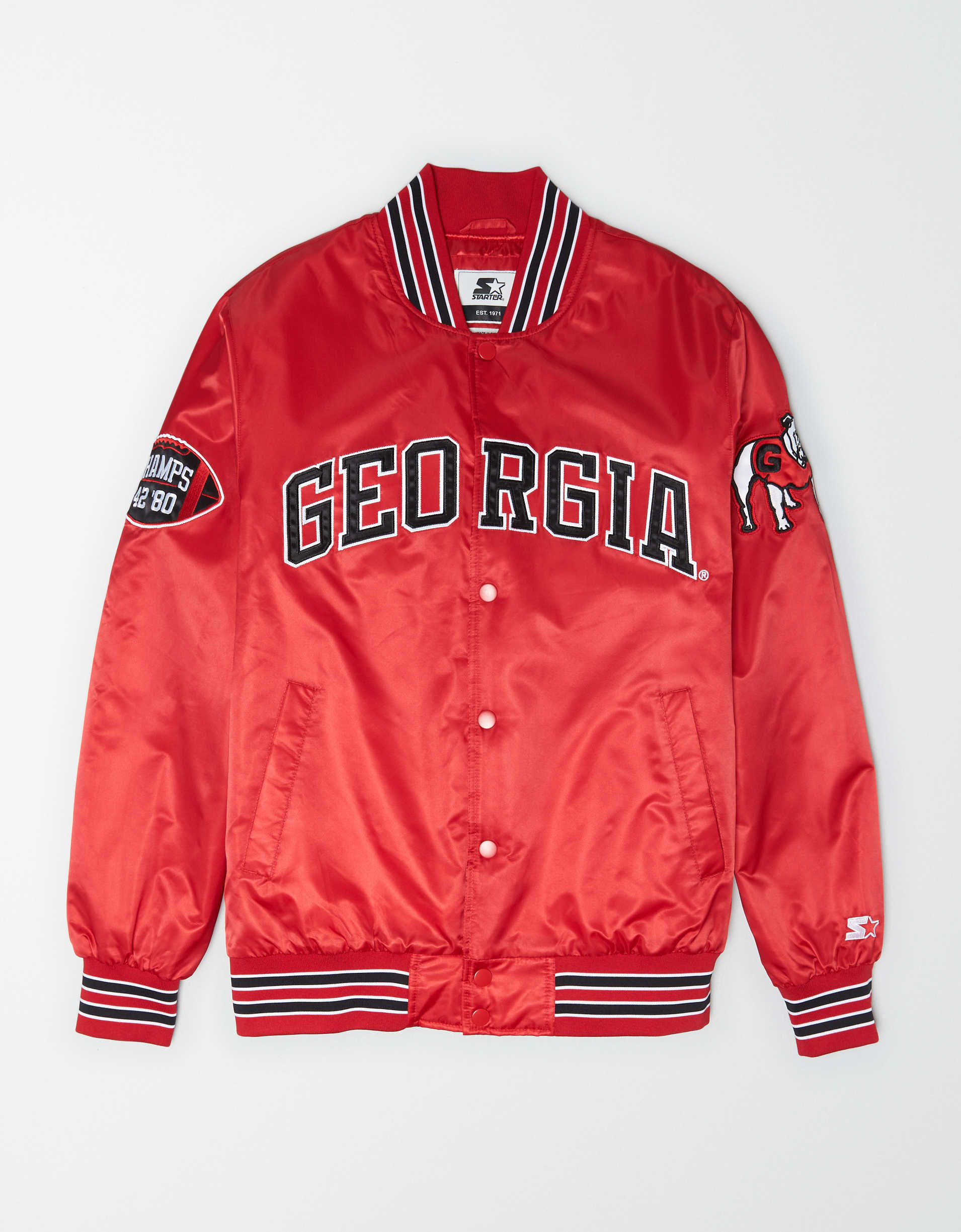 Tailgate X Starter Men's Georgia Bulldogs Varsity Jacket