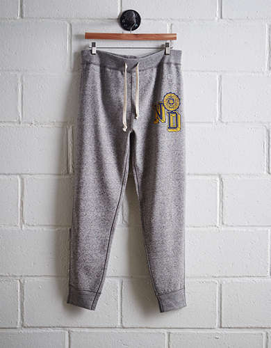 Tailgate Men's Notre Dame Slim Fleece Sweatpant - Free Returns