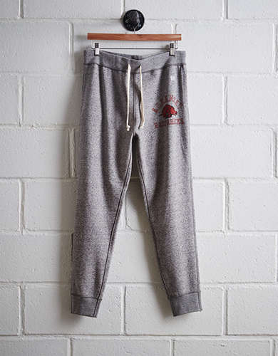 Tailgate Men's Arkansas Slim Fleece Sweatpant - Free Returns