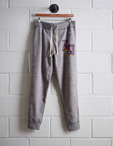 Tailgate Men's Kansas Slim Fleece Sweatpant -