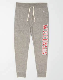 Tailgate Men's Wisconsin Badgers Fleece Sweatpant