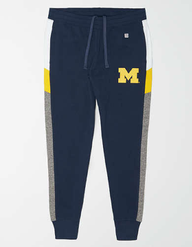 Tailgate Men's Michigan Wolverines Fleece Sweatpant