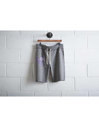 Tailgate Men's NYU Violets Cut-Off Fleece Short -