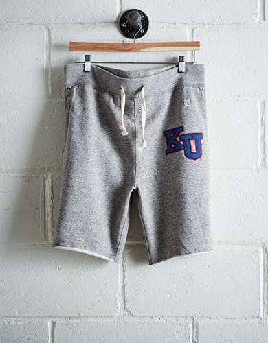 Tailgate Men's Kansas Cut-Off Fleece Short - Free Returns