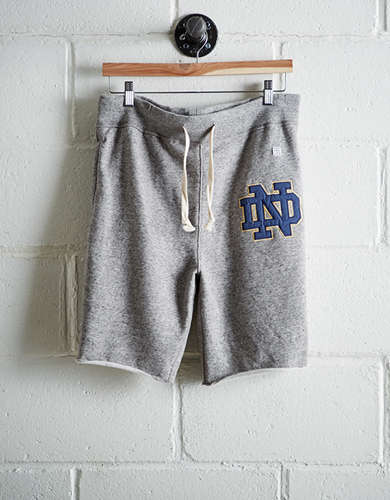 Tailgate Men's Notre Dame Cut-Off Fleece Short - Free Returns