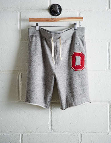Tailgate Men's Ohio State Cut-Off Fleece Short - Free Returns