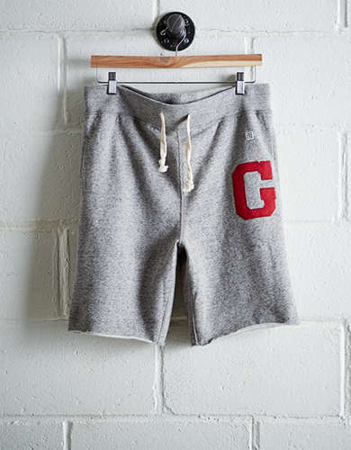 Tailgate Men's Georgia Cut-Off Fleece Short - Free Returns