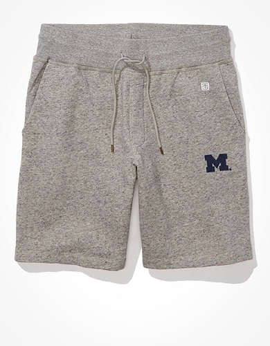Tailgate Men's Michigan Wolverines Fleece Shorts
