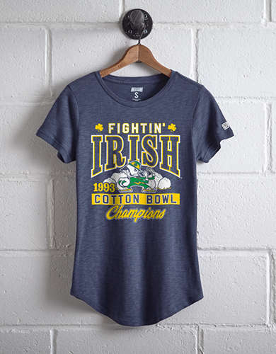 Tailgate Women's Notre Dame Cotton Bowl T-Shirt -