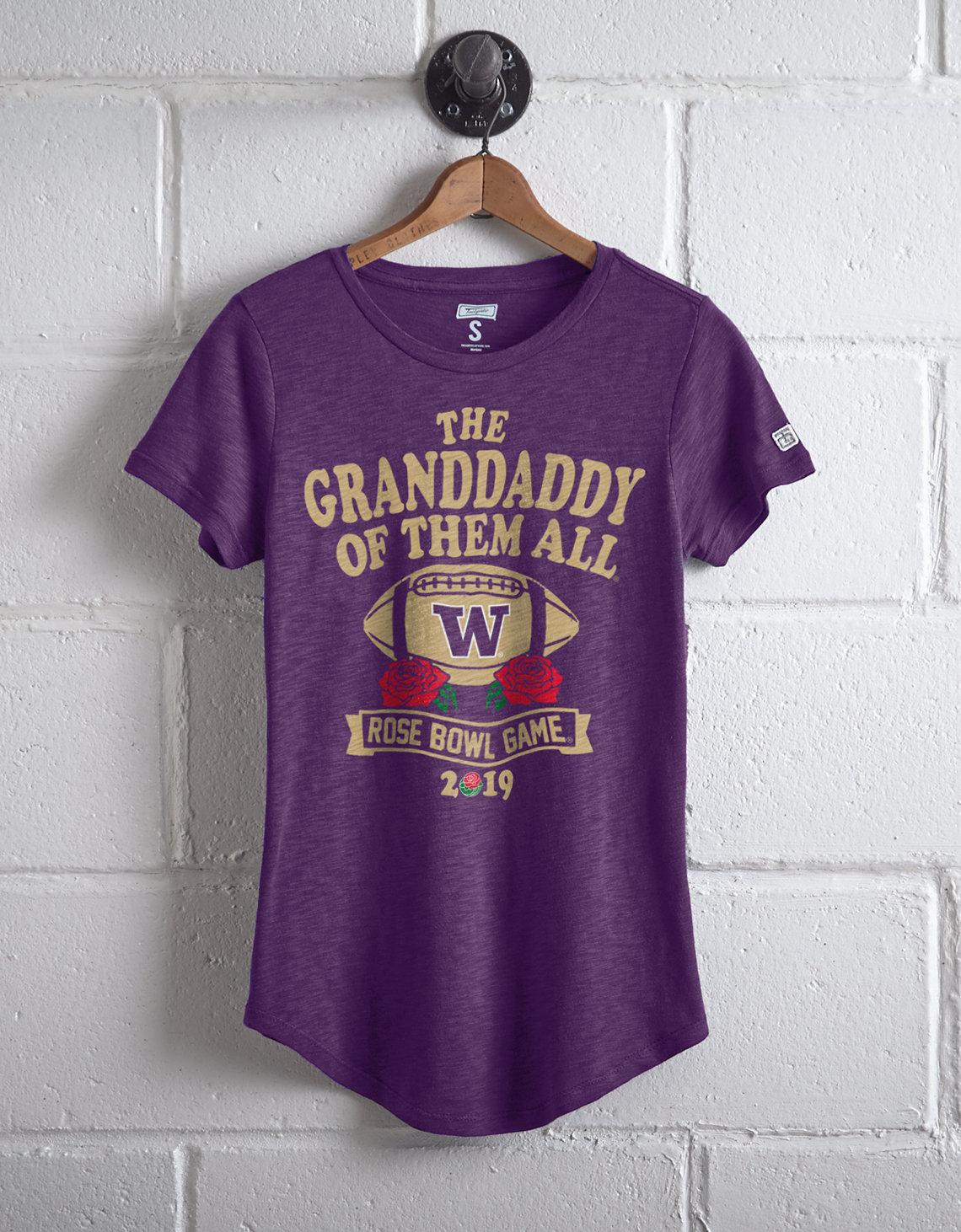 Tailgate Women s Washington Rose Bowl T-Shirt. Placeholder image. Product  Image 7e67aa92ee02
