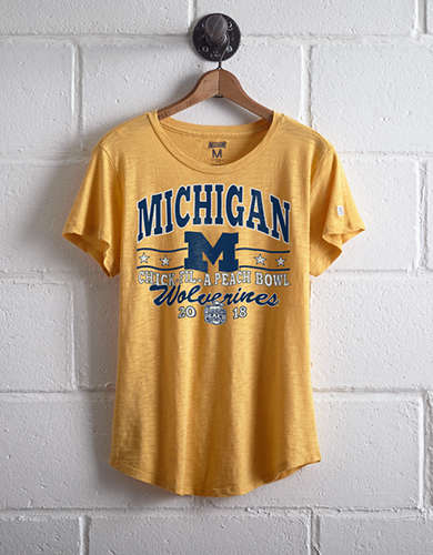 Tailgate Women's Michigan Peach Bowl T-Shirt -