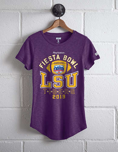 Tailgate Women's LSU Fiesta Bowl T-Shirt -