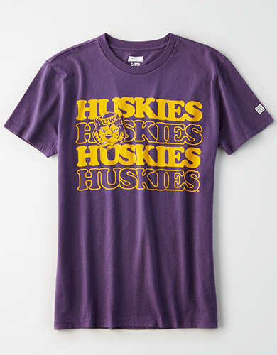 Tailgate Women's Washington Huskies Graphic T-Shirt