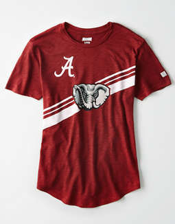 Tailgate Women's Alabama Crimson Tide Slub Jersey T-Shirt