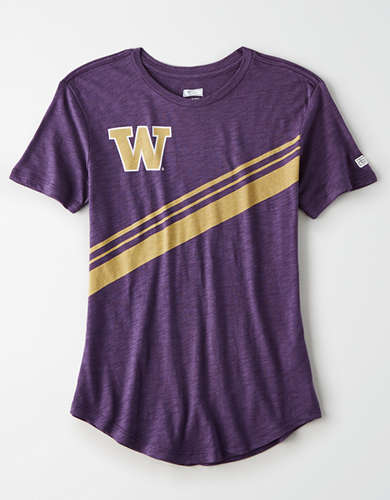 Tailgate Women's Washington Huskies Slub Jersey T-Shirt
