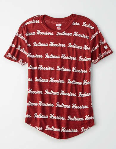 Tailgate Women's Indiana All-Over Graphic T-Shirt