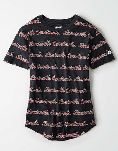 Tailgate Women's Louisville All-Over Graphic T-Shirt