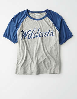 Tailgate Women's Kentucky Cropped Raglan T-Shirt