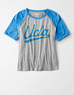 Tailgate Women's UCLA Bruins Cropped Raglan T-Shirt