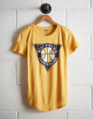 Tailgate Women's West Virginia Mountaineers Basketball T-Shirt - Buy One Get One 50% Off