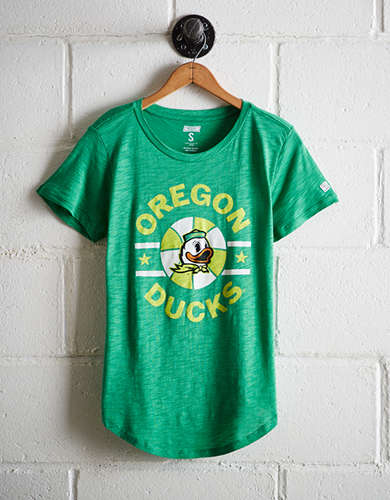 Tailgate Women's Oregon Ducks Basketball T-Shirt - Buy One Get One 50% Off