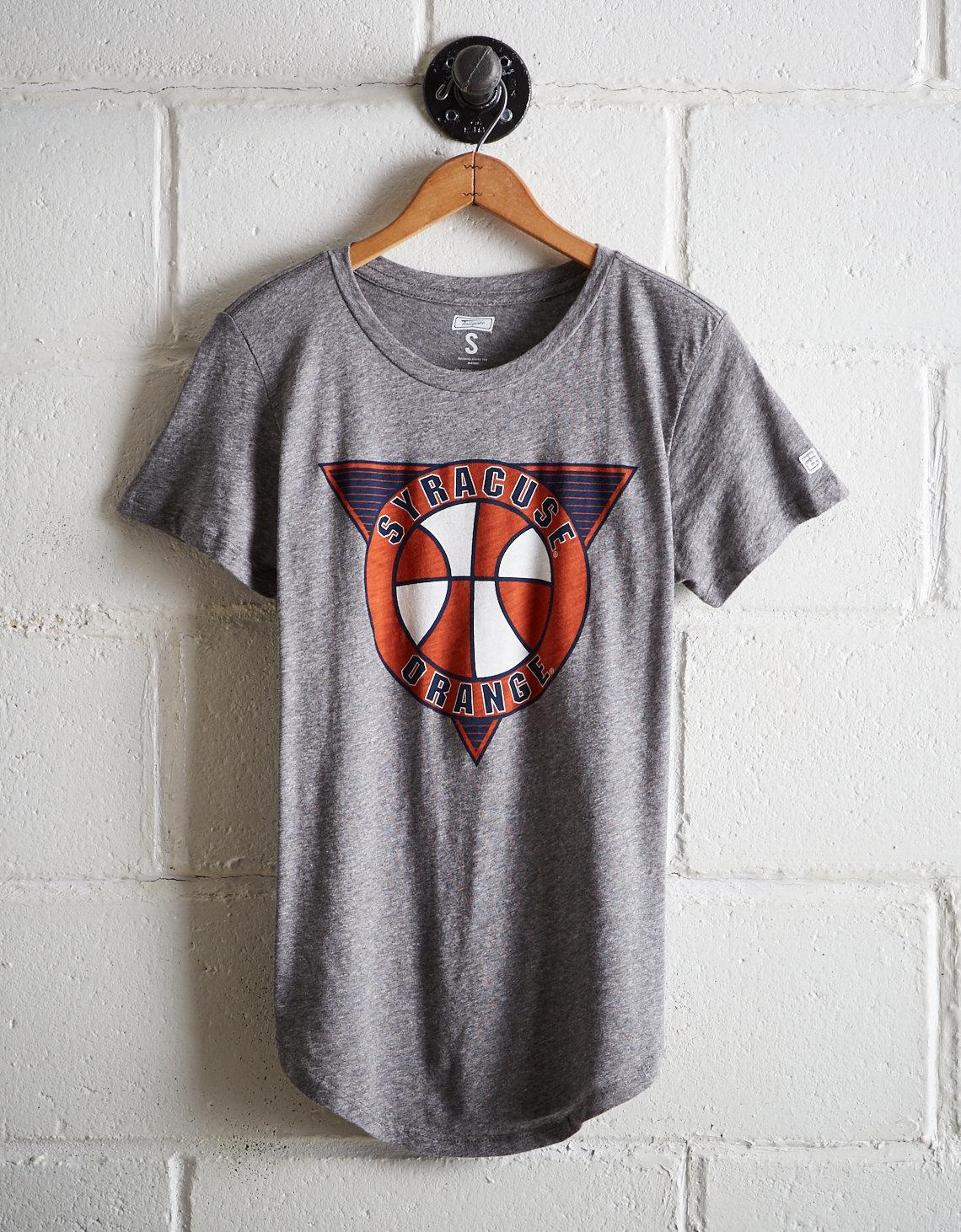 new styles 772b1 f33bc Tailgate Women's Syracuse Orange Basketball T-Shirt