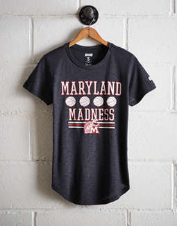 Tailgate Women's Maryland Terrapins Basketball T-Shirt