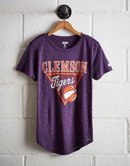 Tailgate Women's Clemson Tigers Basketball T-Shirt
