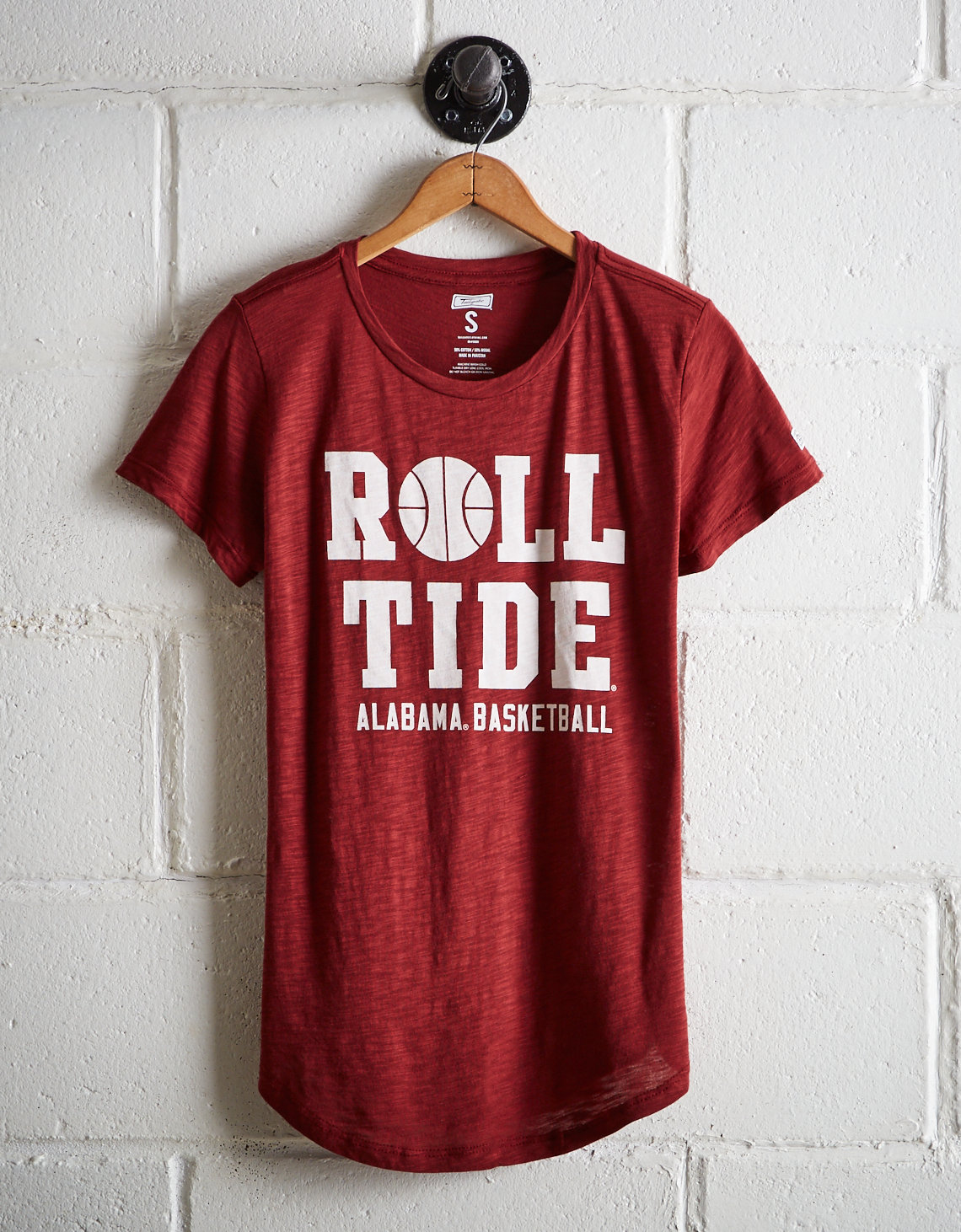 Tailgate Women s Alabama Crimson Tide Basketball T-Shirt. Placeholder  image. Product Image 751ff6f38