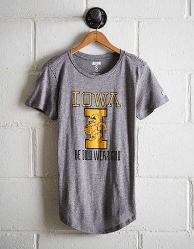 Tailgate Women's Iowa Hawkeyes Basketball T-Shirt - Free Returns