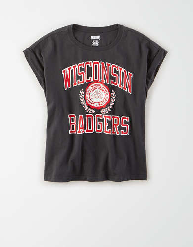 Tailgate Women's Wisconsin Rolled Sleeve T-Shirt