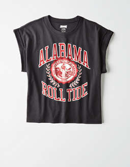 Tailgate Women's Alabama Roll Tide Rolled Sleeve T-Shirt