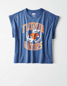 Tailgate Women's Florida Gators Rolled Sleeve T-Shirt