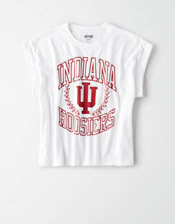 Tailgate Women's Indiana Rolled Sleeve T-Shirt