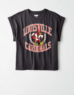 Tailgate Women's Louisville Rolled Sleeve T-Shirt