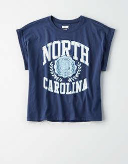 Tailgate Women's North Carolina Rolled Sleeve T-Shirt