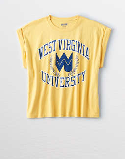 Tailgate Women's West Virginia Rolled Sleeve T-Shirt