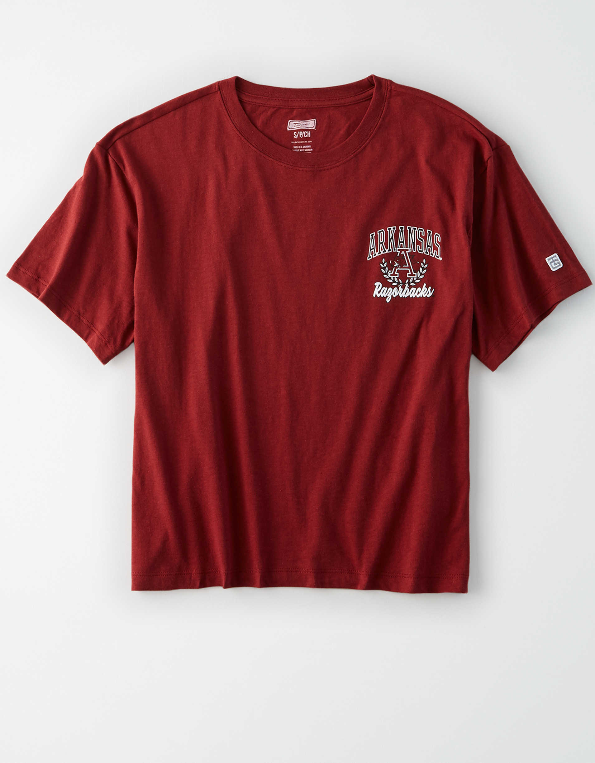 Tailgate Women's Arkansas Razorbacks Cropped T-Shirt