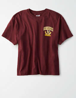 Tailgate Women's Minnesota Golden Gophers Cropped T-Shirt